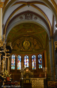 The High Altar of the Basilica, completed in 1865