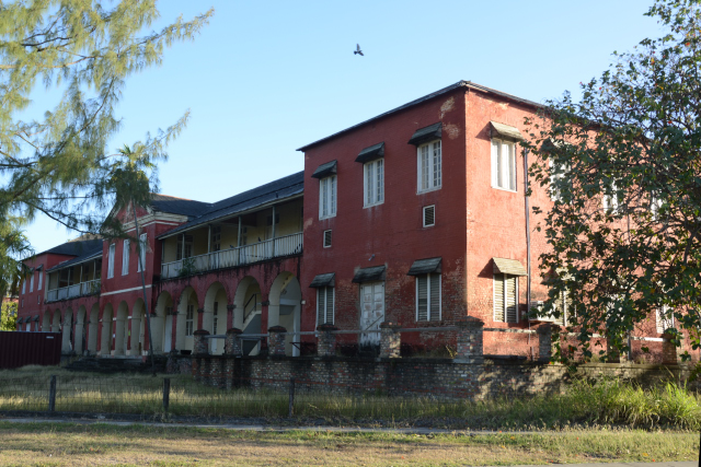 The Soldiers Brick Barracks, built in 1808