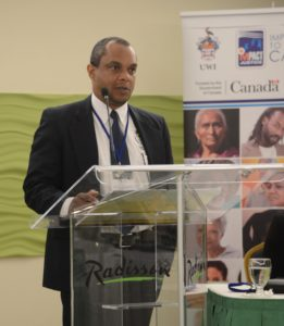 "Presenting on ""The Rights of Journalists"" at the IMPACT Justice Caribbean Media Law Seminar, Barbados in February 2016"