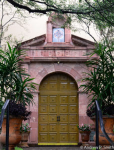 The entrance to Igelsia San Pablo, (St. Paul's Anglican Church)